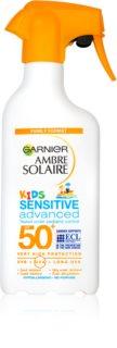 Garnier Ambre Solaire Kids Sensitive protectie solara pentru copii SPF 50+