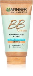 Garnier Hyaluronic Aloe All-in-1 BB krema za mastno in mešano kožo
