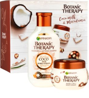 Garnier Botanic Therapy Coco Milk & Macadamia Cosmetic Set I. (For Dry Hair)