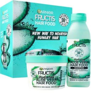 Garnier Fructis Aloe Vera Hair Food coffret cadeau (pour cheveux secs)