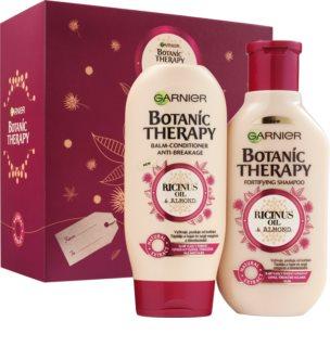 Garnier Botanic Therapy Ricinus Oil coffret cadeau (pour cheveux affaiblis)