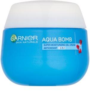 Garnier Skin Naturals Aqua Bomb crema-gel idratante antiossidante giorno 3 in 1