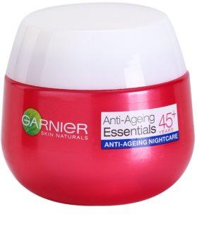 Garnier Essentials nočný krém proti vráskam