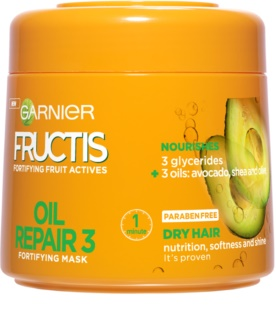 Garnier Fructis Oil Repair 3 Fortifying Mask for Dry and Damaged Hair