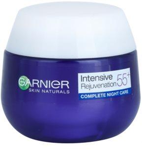 Garnier Visible 55+ нощен крем  за подмладяване на кожата на лицето