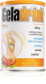 Geladrink nápoj  Jahoda kolagenní výživa kostí a kloubů