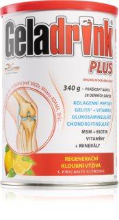 Geladrink Plus Citrón kolagenní výživa kostí a kloubů