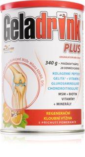 Geladrink Plus Pomeranč kolagenní výživa pro kosti a klouby