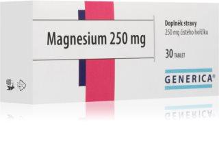 Generica Magnesium 250mg doplněk stravy s hořčíkem