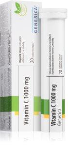 Generica Vitamin C 1000 mg šumivé tablety s příchutí limetky