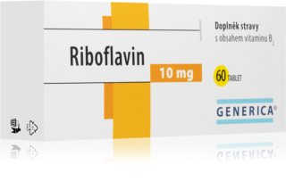 Generica Thiamin doplněk stravy pro dodání denní dávky vitamínu B1