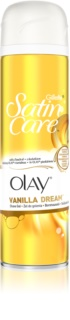 Gillette Satin Care Olay Vanilla Dream  gel de afeitar