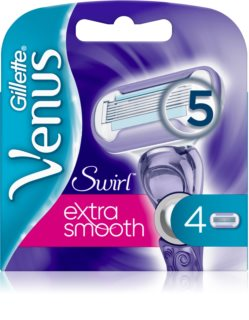 Gillette Venus Swirl Extra Smooth Vervangende Open Messen