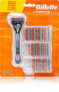 Gillette Fusion5 Razor + Replacement Heads