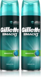 Gillette Mach3 Sensitive Shaving Gel with Soothing Effects for Men