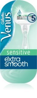 Gillette Venus Extra Smooth Sensitive borotva + tartalék fejek