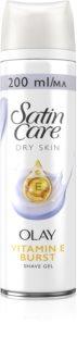 Gillette Satin Care Olay Violet Swirl gel na holení pro ženy