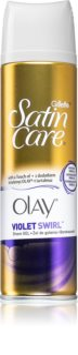 Gillette Satin Care Olay Violet Swirl гель для гоління для жінок