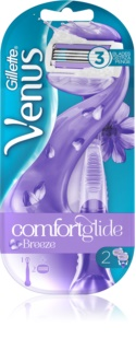 Gillette Venus ComfortGlide Breeze holiaci strojček náhradné čepieľky 2 ks