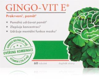 Gingo-vit Gingo-vit E tobolky doplněk stravy  pro duševní a fyzickou rovnováhu