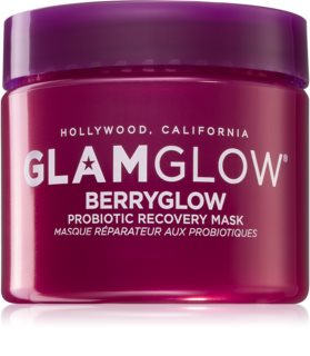 Glamglow Berryglow Probiotic Recovery Mask Hydrating and Brightening Mask with Probiotics