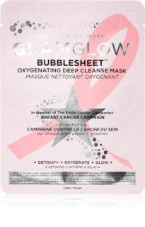 Glamglow Bubblesheet sheet maska za čišćenje s aktivnim ugljenom za sjaj lica