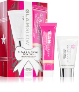 Glamglow Clear & Glowing Skin Duo козметичен комплект за жени