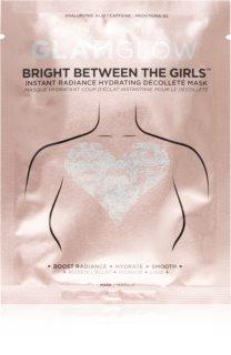 Glamglow Bright Between The Girls hydraterend masker voor de borsten voor Onmiddelijke Straling