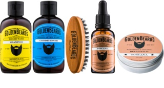Golden Beards Toscana Kosmetik-Set  II. für Herren