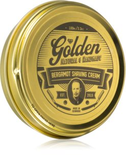 Golden Beards Bergamot Shaving Cream Rasiercreme für Herren