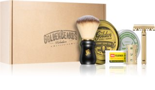 Golden Beards Shaving Kit Rasierset (für Herren)