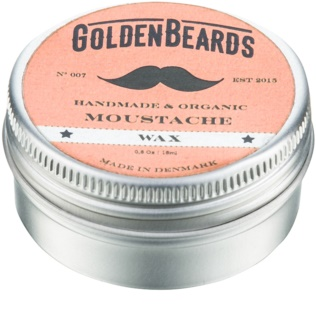 Golden Beards Moustache Mustaschvax