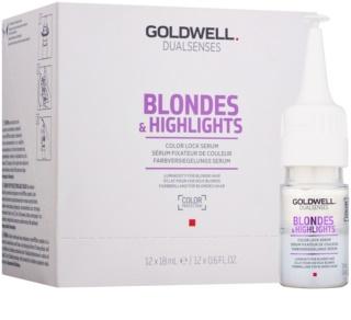 Goldwell Dualsenses Blondes & Highlights sérum pour cheveux blonds et méchés