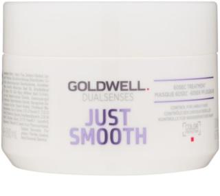 Goldwell Dualsenses Just Smooth máscara alisante para cabelo rebelde