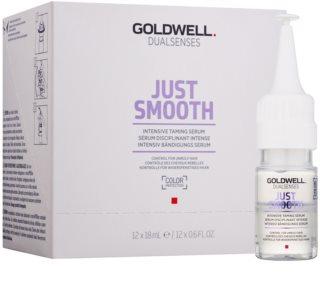 Goldwell Dualsenses Just Smooth kisimító szérum a rakoncátlan és töredezett hajra