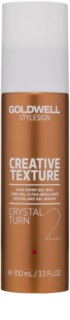 Goldwell StyleSign Texture Crystal Turn 2 Gel Wax with High Gloss Effect