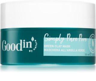 Goodin by Nature Simply Pure Pore reinigende Gesichtsmaske mit Tonmineralien