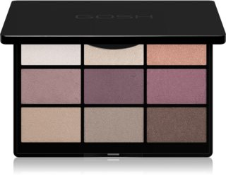 Gosh 9 Shades Palette Eyeshadow Palette with Mirror