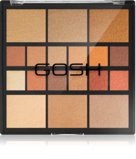 Gosh Grab & Go paletka na obličej a oči