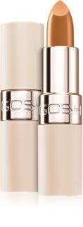 Gosh Luxury Nude Lips ruj semi-mat cu efect de hidratare