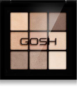Gosh Eyedentity paleta očních stínů