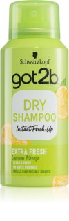 got2b Fresh it Up Extra Fresh erfrischendes trockenes Shampoo