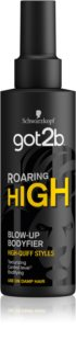 got2b Roaring High spray modelador para dar volume ao cabelo