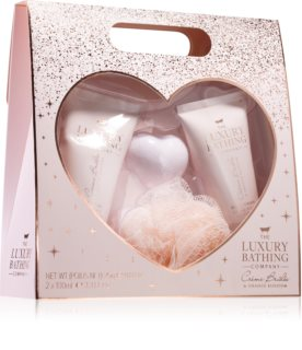 Grace Cole Luxury Bathing Creme Brulée & Orange Blossom coffret cadeau (pour la douche)