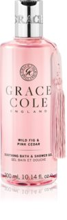 Grace Cole Wild Fig & Pink Cedar заспокоюючий гель для душа і ванни