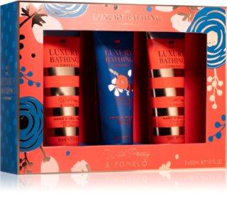 Grace Cole Luxury Bathing Wild Poppy & Pomelo set cadou (de maini)