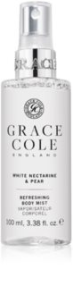 Grace Cole White Nectarine & Pear spray rinfrescante per il corpo