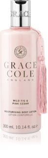 Grace Cole Wild Fig & Pink Cedar lait hydratant doux corps