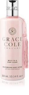 Grace Cole Wild Fig & Pink Cedar nežni vlažilni losjon za telo
