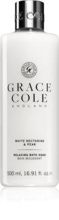Grace Cole White Nectarine & Pear dus relaxant si gel de baie